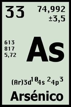 simbolo arsenico