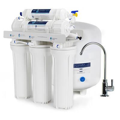 impianto osmosi inversa con accumulo serbatoio