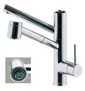 esempio di rubinetto a 5 vie